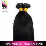 Estensione brasiliana dei capelli di punta di u dei capelli umani di Remy del Virgin all'ingrosso