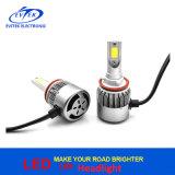 자동 예비 품목 H1 H3 9005 9006 H11 자동 LED 헤드라이트 C6 차 LED 헤드라이트 6000K