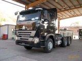 Sinotruk 10の速度のギヤボックスが付いている頑丈な強く引くロードトレーラトラック