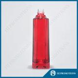 Botella roja del alcohol de la cristalería 500ml (HJ-GYSN-A03)