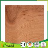 Revêtement de sol réutilisé par qualité de PVC, plancher en plastique imperméable à l'eau de PVC