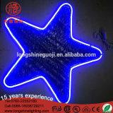 LED Star 6W PVC Motif Neon Flex Light Lamps com Ce RoHS para Decoração de férias