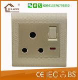 3 Methoden-Wand-Schalter-BRITISCHE elektrische Befestigungen der Gruppe-2