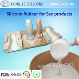 Homens e borracha de silicone líquida da classe médica do pénis do silicone do menino