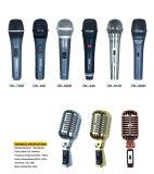 Chant magique de câble tenu dans la main de Karaok de condensateur de microphone le meilleur marché
