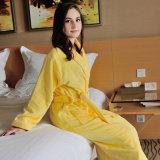 Maison/hôtel/salon de beauté/pyjama/chemises de nuit promotionnels de couples coton de chambre à coucher peignoir/