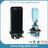 Закрытие соединения оптического волокна Shrink жары 240 соединений (FOSC-D08)