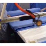 Da colagem quente do derretimento de 3 linhas centrais máquina distribuidora para o revestimento do funcionamento