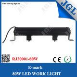 광속 12V를 모는 Ce/RoHS/E 표 크리 사람 LED 표시등 막대 80W