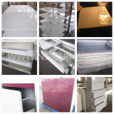 Mobiliário de cozinha Gabinete de cozinha de acrílico MDF com acessórios