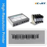 Imprimante à jet d'encre de produits cosmétiques avec la cartouche colorée différente de HP (ECH802)