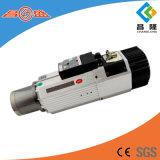 Manufactre 9kw ATC-Luft abgekühlter Hochgeschwindigkeitsasynchroner Spindel-dreiphasigmotor für hölzernen schnitzenden CNC-Fräser