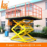 Scissor stationäre hydraulische 2ton Tisch-Aufzug (SJG2-2.5)