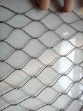 Завязанная нержавеющей сталью ячеистая сеть
