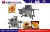Pepitas de galinha quentes eficazes elevadas do hamburguer da venda que fazem a máquina