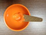 De Kop van de yoghurt en van het Roomijs