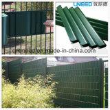 100%UV cerca del jardín de la pantalla de la tira del PVC de la resistencia Ral6005 630g el 19cm*35m