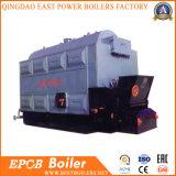 Duplos cilindros Tubo de Água Coal Fired Madeira industrial de biomassa caldeira a vapor