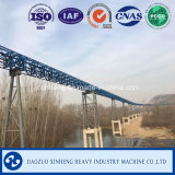 Grande capacité Convoyeur / Long Distance Tuyauterie Système de transport Ceinture