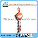 Tipo de HS-J - bloco Chain manual de 1 tonelada