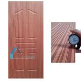 Panel de 6 paneles de madera laminada de fresa de 3X7'size moldeado de contrachapado de piel de puerta