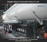 3 Aanhangwagen van de Vrachtwagen van de Tanker van de Brandstof van de as 50000L of van de Tanker van de Brandstof de Semi