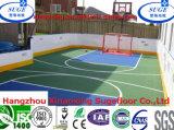 Azulejo de la cubierta del deporte de la cancha de básquet de la antioxidación