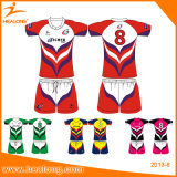 OEM Sublimation Homme Vêtements de sport New Design Team Rugby Jersey