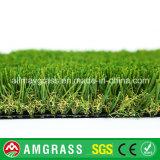 Relvado macio do tapete da grama e do monofilamento da decoração
