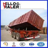 3つの車軸はトレーラー輸送の鉱物のためのダンプの味方する
