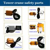 Capacité de charge maximale de la grue à tour de construction Qtz80 (TC6018) : longueur 10t/Jib : chargement 60m/Tip : 1.8t