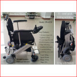 Brushless Elektrische Rolstoel Wheelchair/Power Wheelchair/Folding van Ce (pw-8F20)