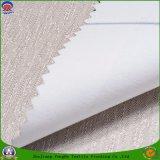 Tissu tissé par polyester à la maison franc imperméable à l'eau de textile enduit s'assemblant le tissu de rideau pour le rideau en guichet