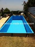 PVC dell'azzurro della fodera 1.5mm 2mm della piscina che impermeabilizza Geomembrane