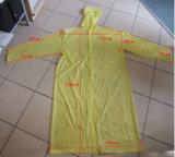 Beschikbaar pvc Thickening Raincoat met Hood