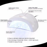 Lâmpada UV 365nm+405nm do prego do diodo emissor de luz da lâmpada UV nova do diodo emissor de luz de Sunone 48W