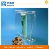 De duidelijke Kosmetische Zak van pvc van de Zak van de Ritssluiting van pvc