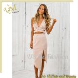 OEM изготовления одежды платья бутика женщин платья комплектов 2 частей причудливый