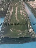 Couverture en plastique vert-foncé de camion de bâche de protection de la Chine