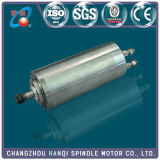 motor refrigerado por agua del eje de rotación 1.5kw para CNC (GDZ-19)