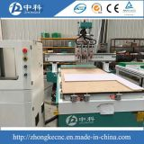 3.5kw Air Cooling Spindle Three Heads Wood CNC Machine de sculpture