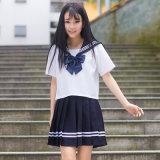 Школьные формы матроса военно-морского флота способа японского матроса школы равномерные для костюма девушок Cosplay