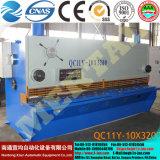 Горячее сбывание! Машина гидровлической (CNC) гильотины -10X3200 QC11y (k) режа