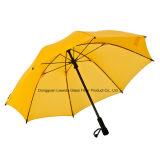 고품질 섬유유리 프레임을%s 가진 방풍 골프 우산 여행 우산