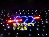 Cortina Twinkling del paño de la estrella del cielo de la cortina de la estrella de RGBW LED los 2*3m para el partido del disco