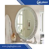 Miroir en aluminium de 6 mm gris arrière pour salle de bain