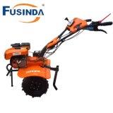 Fg1050, sierpe diesel de la potencia de la sierpe dos de 7HP 4.4kw de la rueda de la sierpe de la mini de la sierpe del jardín de la sierpe de la granja sierpe rotatoria diesel de la sierpe