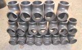 A234 Wpb, 20#, A105, te recta del acero de carbón Q235
