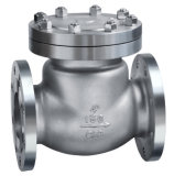 Steel di acciaio inossidabile Flanged Estremità Swing Check Valve 150lb
