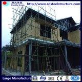 Marco de acero ligera, construcción de viviendas con precio competitivo
